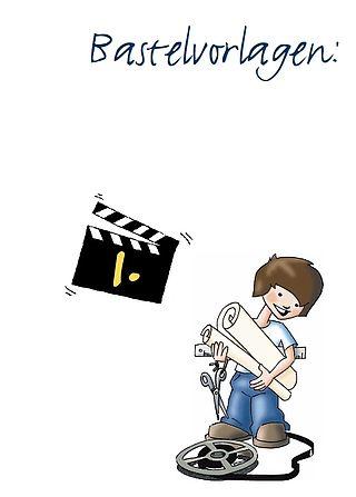 Wie Die Bilder Laufen Lernen Bastelvorlagen Filmothek Nrw